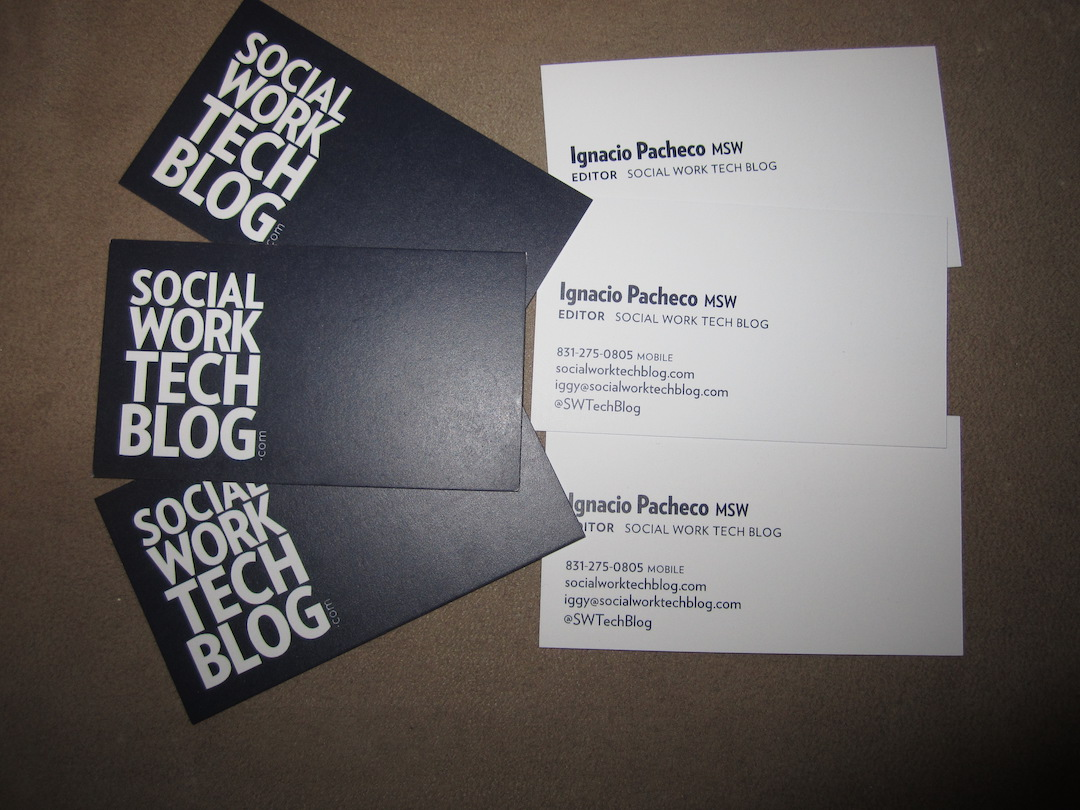 Official Social Work Tech Blog Business Cards – Social Work Tech