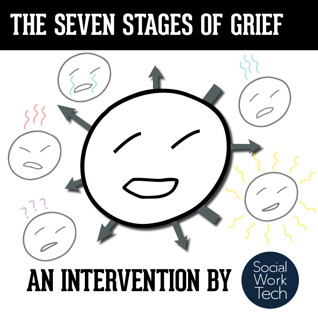 seven stages of grieving The five stages of grief 1 abstract countless composers have written music motivated by death and the grieving process in the same way, i composed the five stages of grief, a five-movement.