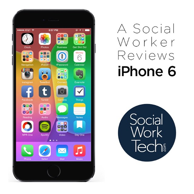 The iPhone 6 is reviewed from this #SocialWork/er's perspective. Also worth noting is that I provide an overview of how I use apps on my device throughout my day as a social worker. Only at socialworktech.com !