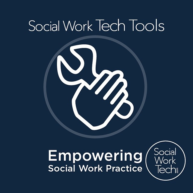 Today, I'm announcing the launch of Social Work Tech Tools. It's a part of my site where every tool I create for #SocialWork practice will be posted on this page. Come check it out!