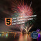 "Thumbnail for this blog post. Includes images of fireworks and the following text: ""New Years Resolutions for the Social Work Professional"""